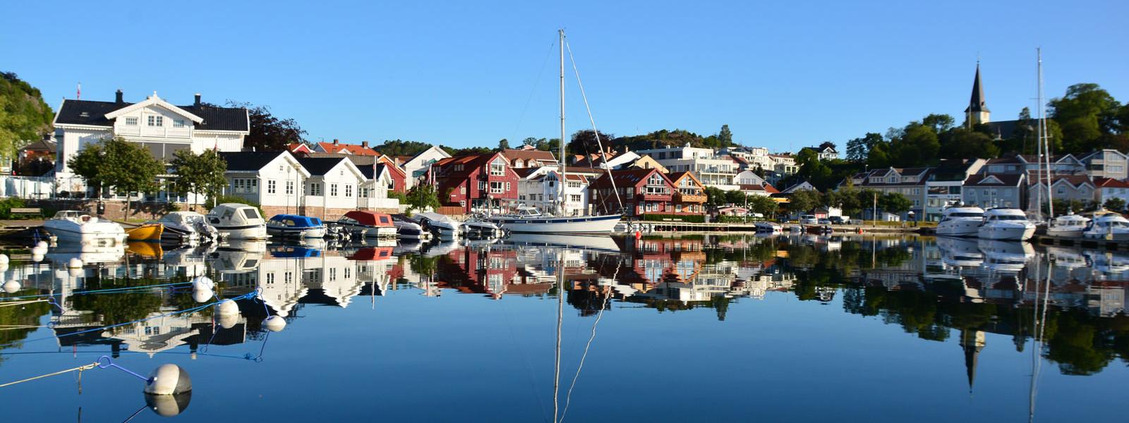 Grimstad Fra Torskeholmen